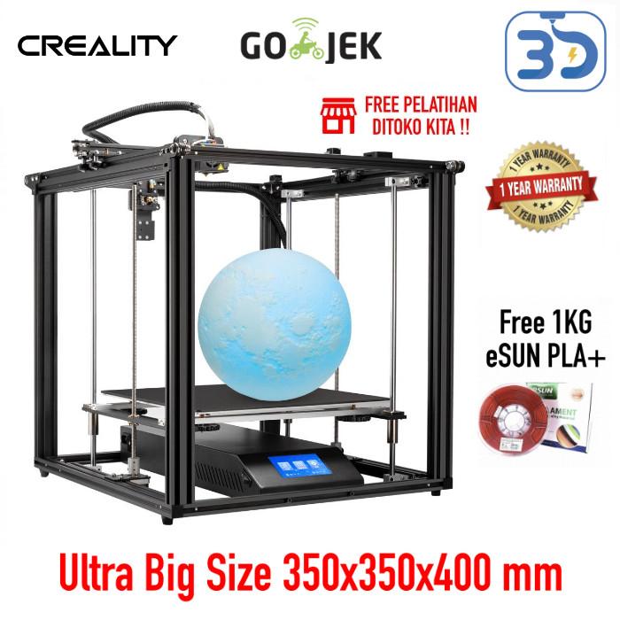 Foto Produk Original Creality Ender 5 Plus 3D Printer Versi Terbaru Autoleveling dari 3D Zaiku