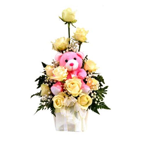 Jual Bouquet Bunga Rangkaian Bunga Buket Bunga Valentine Anniversary Bvl18 Jakarta Barat Putraperabot Tokopedia