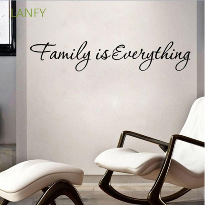 Jual Lanfy Removable Family Is Everything Art Decor Bedroom Living Room Jakarta Barat Welcomestore1 Tokopedia
