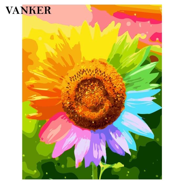 Jual Vanker Diy Oil Painting For Kids Adults Beginner With Brushes And Jakarta Selatan Aurorashopingg Tokopedia