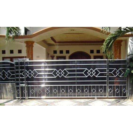 Jual PAGAR MINIMALIS BAHAN STAINLESS STEEL - Kab. Sukabumi - Wan Las Home  Decor   Tokopedia