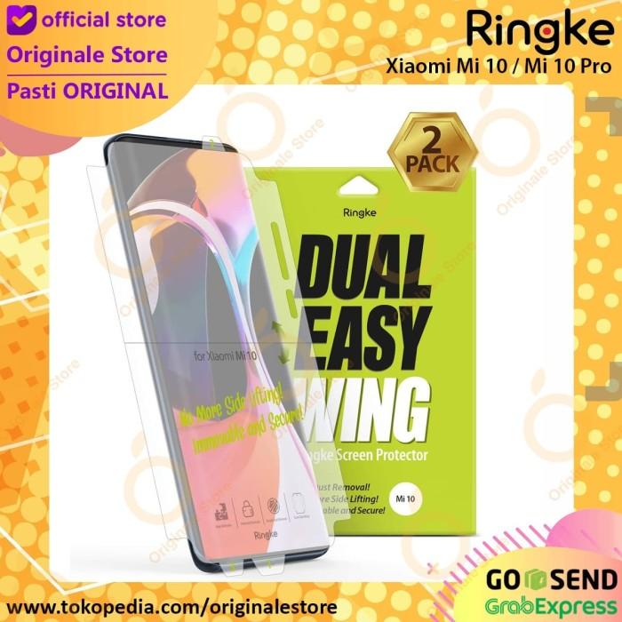 Foto Produk Screen Guard Mi Note 10 Pro CC 9 Pro Ringke Dual Easy Wing Anti Gores dari Originale Store