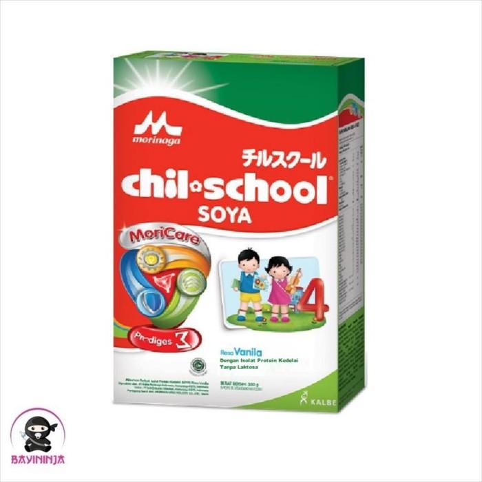 Foto Produk MORINAGA Chil School Soya 4 Vanila Susu Box 300g / 300 g dari BAYININJA
