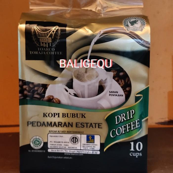 Foto Produk TOARCO Drip Coffee PEDAMARAN ESTATE dari Baligequ