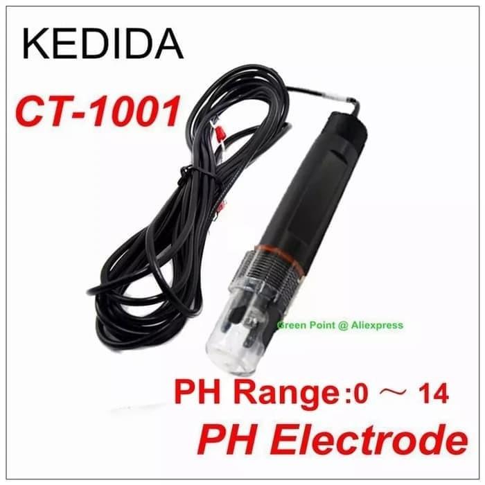 Foto Produk PH Electrode Kedida CT-1001C Probe Meter Elektroda CT1001C CT6659 dari HRDIK