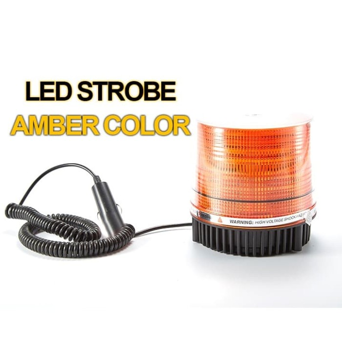 Foto Produk LAMPU LED STROBE - WARNING LIGHT COLOR AMBER DC 12V - LAMPU STROBO LED dari EtalaseBelanja