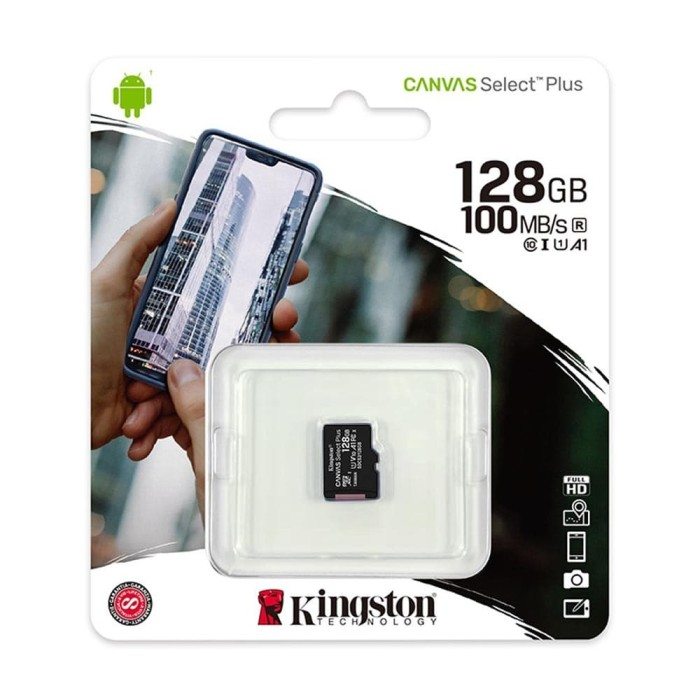 Foto Produk Kingston Micro SD Card Class-10 128GB dari IT-SHOP-ONLINE