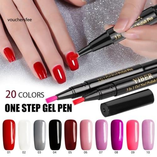 Jual New Soak Off Uv Nail Gel Polish Pen Solid Color Long Lasting Manicure Jakarta Pusat Agen Fiforlif Original Tokopedia