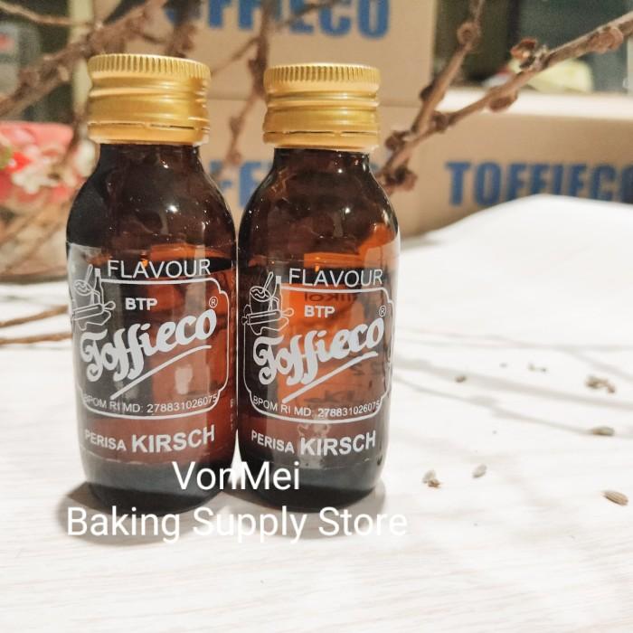 Toffieco Kirsch salah satu perasa untuk black forest cake