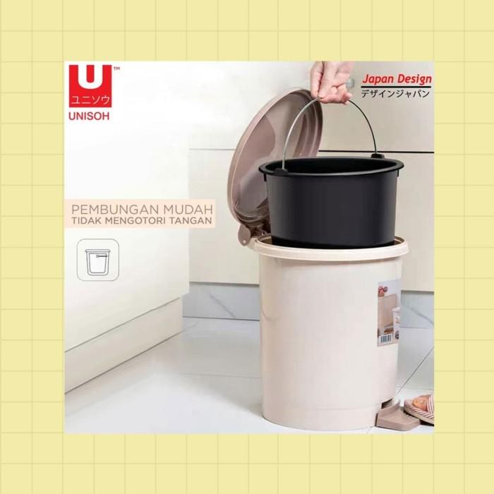 Foto Produk Tempat Sampah Tong Sampah Tabung 10 liter - Putih dari serisaito
