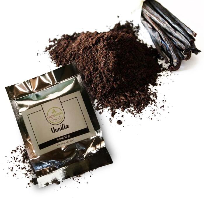 Foto Produk Vanilla Powder Organic (Bubuk Vanila Organik) 1 kg dari Kantin Organik