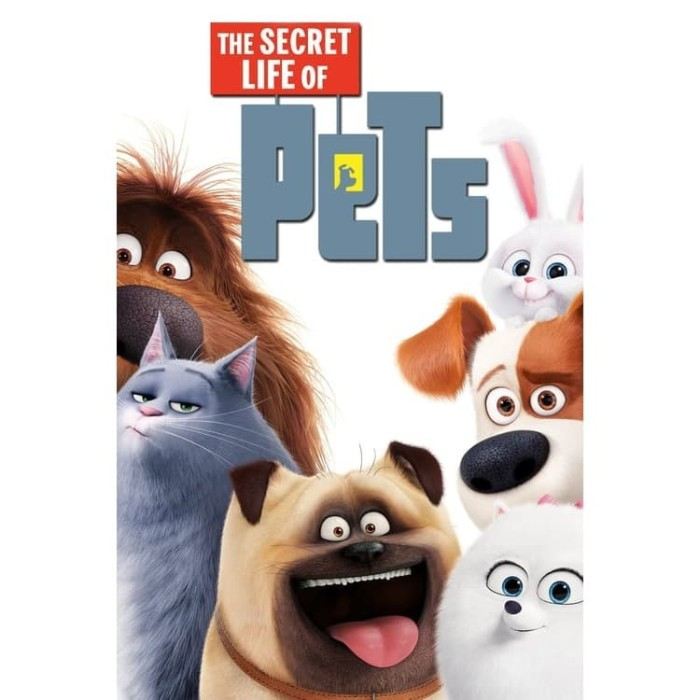 Jual Film The Secret Life Of Pets 2016 Teks Indonesia Play Dvd Player Kota Bandung Factory Movie Dvd Tokopedia