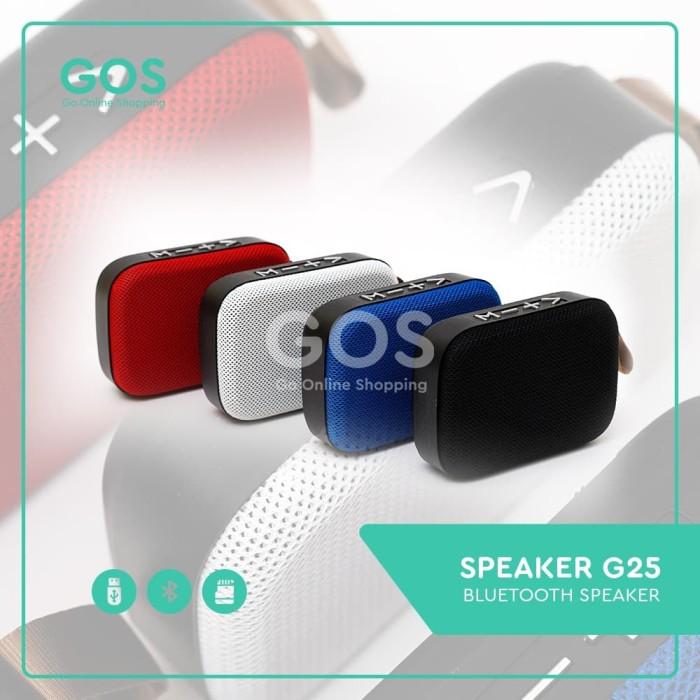 Foto Produk SPEAKER BLUETOOTH PORTABLE G2 dari GOS Aksesoris HP