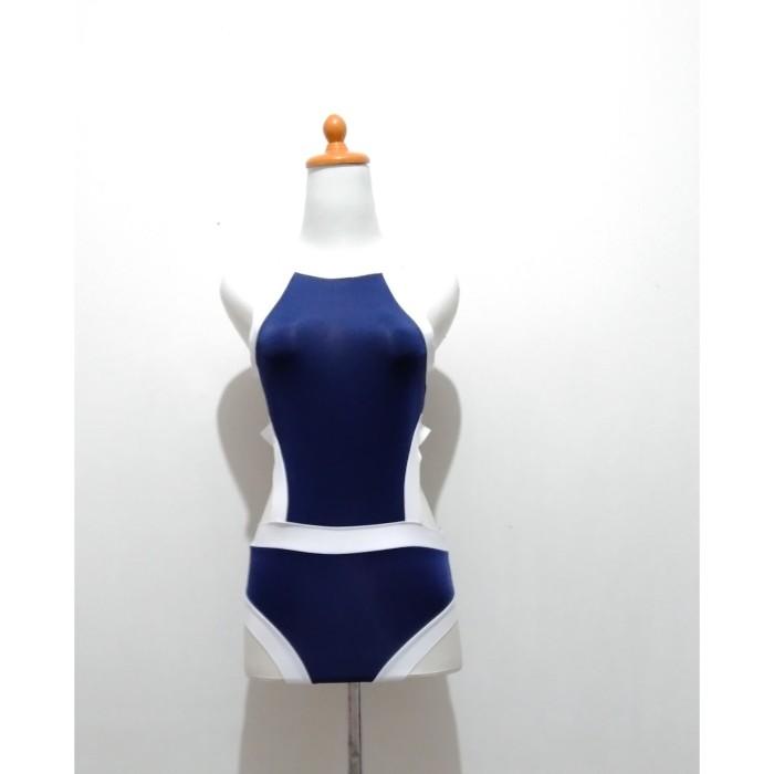 Foto Produk L-1630 - Lingerie Blue Bikini Bodysuit dari Lingerie X Lingerie