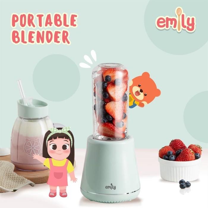 Jual Emily Portable Blender Travel Juicer 0 6 Liter Jakarta Utara Babyzania Id Tokopedia