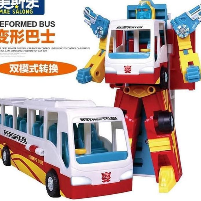Foto Produk War Hero Deformation Bus | Mainan Bus berubah jadi Robot No.2778A dari ciustoys