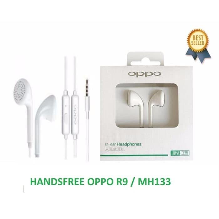 Foto Produk [GARANSI]HANDSFREE HEADSET EARPHONE OPPO R9 ORIGINAL dari Nanvan Official