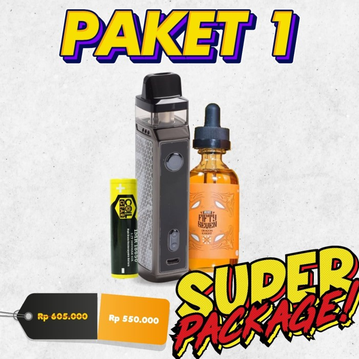 Foto Produk PAKET NGEBUL Super Package Authentic VOOPOO VINCI X 70W Pod Kit dari VapeOi