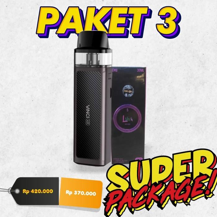 Foto Produk PAKET NGEBUL Super Package Authentic VOOPOO VINCI AIR Pod Kit 900mAh dari VapeOi