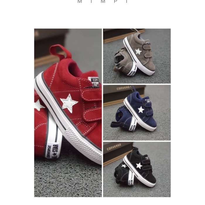 Sepatu Converse Onestar Kids velcro 26