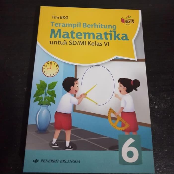 Jual Buku Terampil Berhitung Matematika Kls 6 Sd Erlangga Kota Bandung Reyhanbook Tokopedia