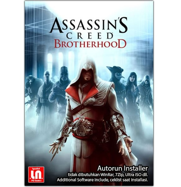 Jual Assassin Creed Brotherhood Pc Dvd Game Not Original Kota