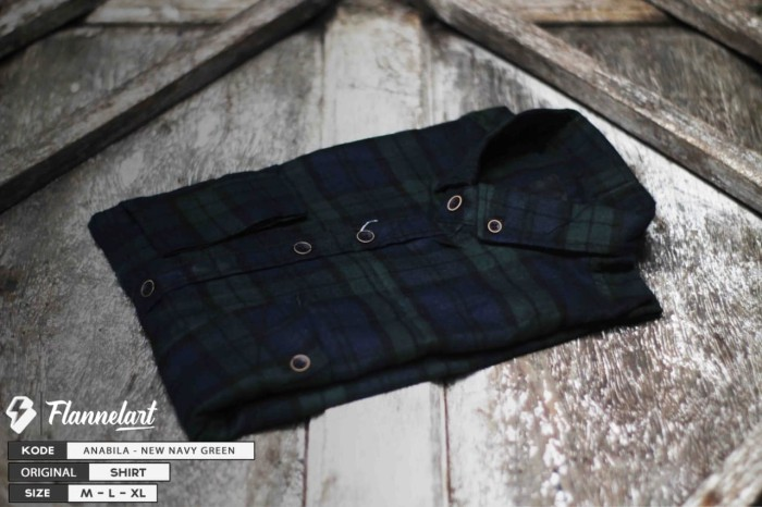 Foto Produk kemeja flannel flanel dari onlartid