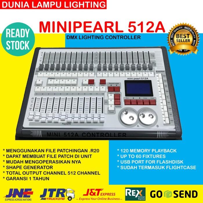 Foto Produk Minipearl 512A Mini pearl 512A dmx 512 Lighting Controller+flightcase dari DUNIA LAMPU LIGHTING
