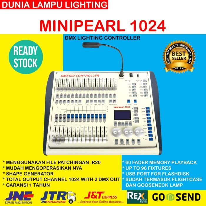 Foto Produk HARGA MURAH mixer lampu parled beam minipearl 1024 lighting controller dari DUNIA LAMPU LIGHTING