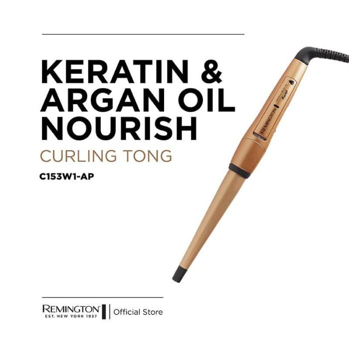 Foto Produk Remington Keratin & Argan Oil Nourish Tong C153W1-AP dari REMINGTON INDONESIA