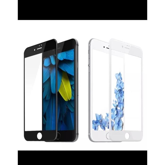 Foto Produk Tempred Glass, tempered glass iphone 7 plus / 8 plus 5D/9D full cover - Putih dari YC_shop