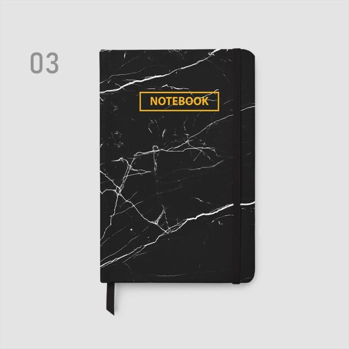 Foto Produk Planner MARBLE/ Bullet Journal/ Weekly Notebook/ Agenda - Plain dari Bukuqu