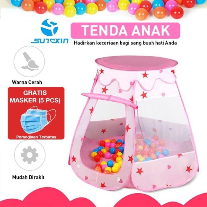 Foto Produk Tenda Anak - Biru Muda dari SUNXIN
