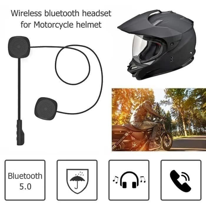 Foto Produk Headset Bluetooth Helm Mh04 With Microphone Music Wireless TERLARIS dari Dyzey official store