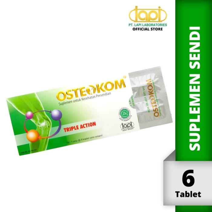 Foto Produk Osteokom amplop @ 6kaplet - Suplemen kesehatan sendi dari Lapi Official Shop