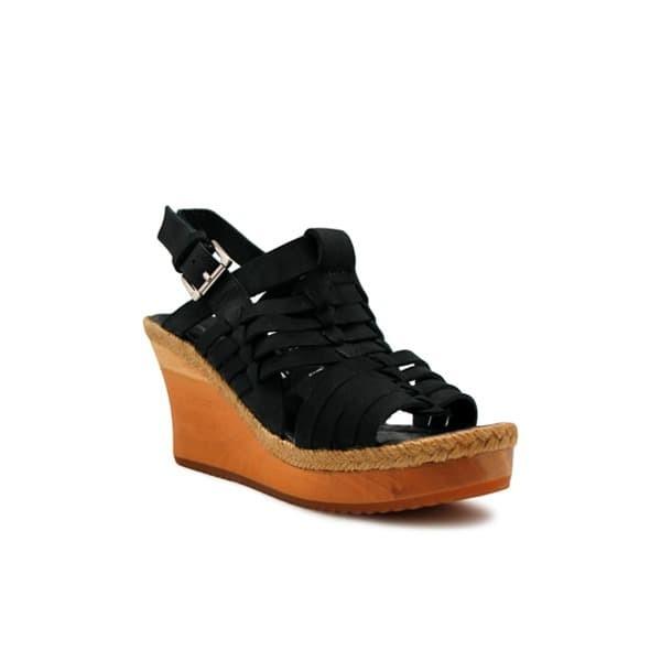 Foto Produk WEDGES Elenoir - Black 8cm dari Natana Shoes