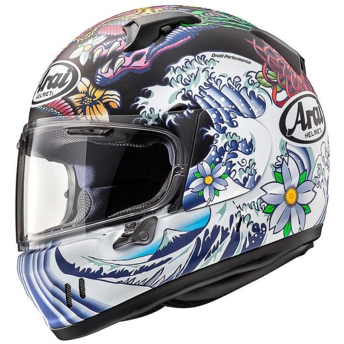 Foto Produk Arai SNI XD Oriental Helm Full Face - Flat Black - L dari Arai Indonesia
