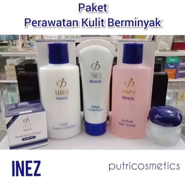 Paket Inez Untuk Kulit Berminyak Dan Berjerawat