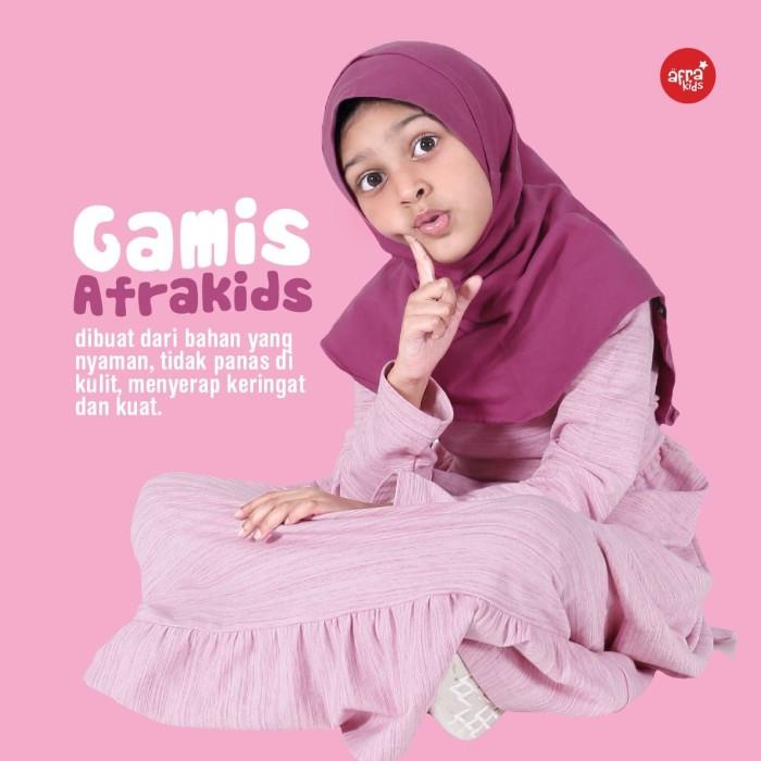 Foto Produk Gamis Anak Perempuan Afrakids - GA004 - AFRAKIDS dari kyanostore