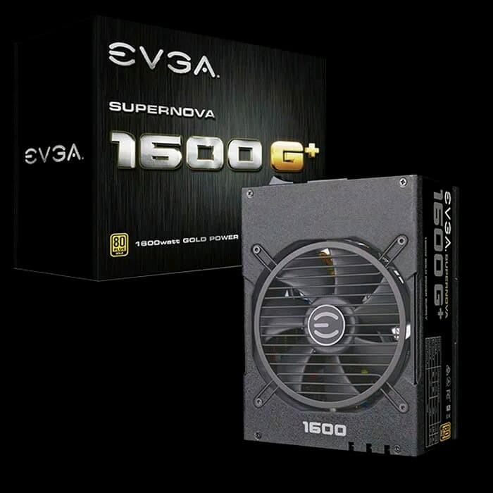 Foto Produk Power Supply EVGA Super Nova Gold 1600W G plus 1600 Watt dari PojokITcom Pusat IT Comp