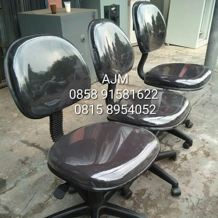Foto Produk Kursi Kantor Kursi Staff Kursi Kerja - Hitam dari Astra Jaya Mandiri