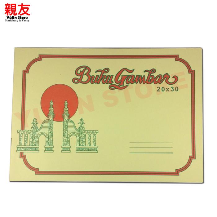 Jual Buku Gambar Gapura Ukuran A4 Dan A3 Ukuran A4 Kab Klaten Yujin Store Tokopedia