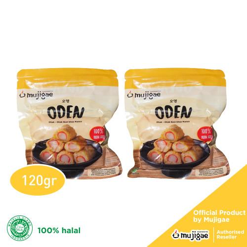 Foto Produk PAKET ISI 2 - Mujigae Oden / Odeng - Otak Otak Ikan Korea 120gr dari Mujigae Official