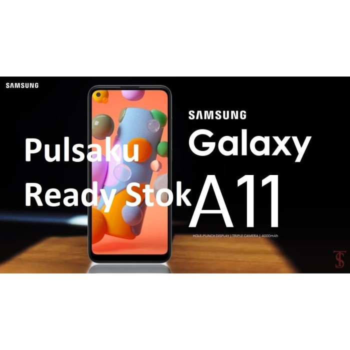 Foto Produk Samsung Galaxy A11 - ROM 32 GB - RAM 3 GB - Garansi Resmi SEIN - Random Warna dari Pulsaku Cepat