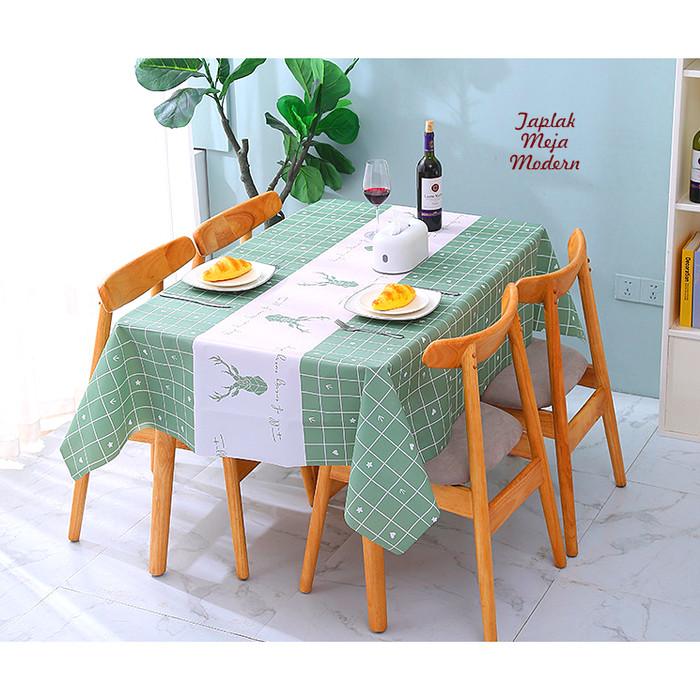 Foto Produk Taplak Meja MODERN RUSA FULL OF ENERGY 137X180 Tampilan meja jd cantik dari CERIA SMART