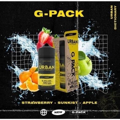 Foto Produk Urban Dictionary - Gpack Strawberry mix apple - 100ml 3mg dari VapeOi
