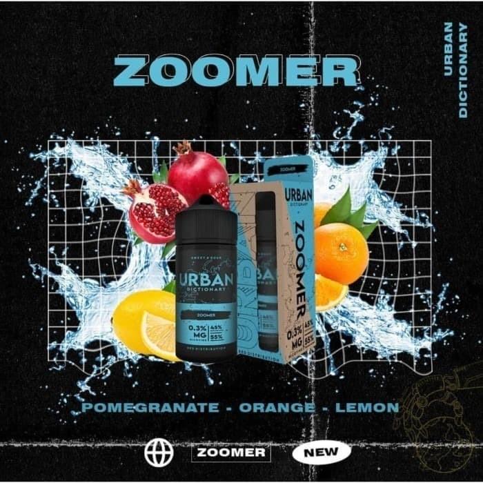 Foto Produk Urban Dictionary - Zoomer Pomegrande mix lemon - 100ml 3mg dari VapeOi