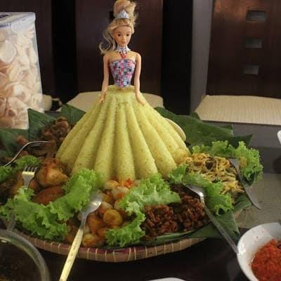 Jual Cetakan Tumpeng Pudding Rok Barbie Ukuran Besar Tinggi 17cm Kota Kediri Sanosanoshop Tokopedia