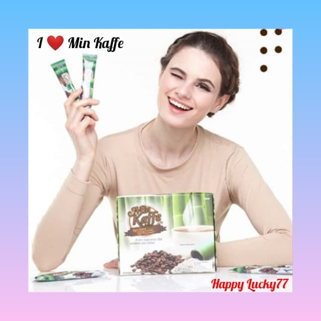 Foto Produk MIN KAFFE KOPI PRACAMPUR GARAM BULUH ORGANIK ALAMI KOREA / KOPI INSTAN dari Happy Lucky77