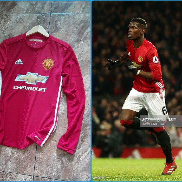 Jual Jersey Original Manchester United Home 2016 17 Ls Kab Malang Jersey Ciamikk Tokopedia